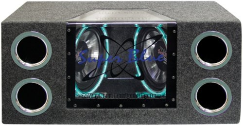 best car subwoofer - Pyramid BNPS102 10 inch1000W Dual Car Subwoofers
