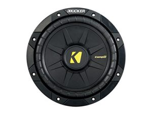 best 8 inch subwoofer Kicker 40CWD84 8 CompD Car Subwoofer