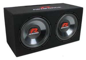 best car subwoofer - Renegade RXV1202 12 inchh1200W Dual Car Subwoofer