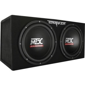 best car subwoofer - mtx audio Terminator 12 inch subwoofer