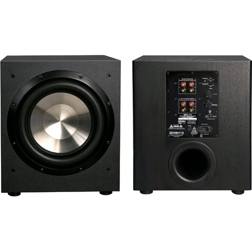 best home theater subwoofer - BIC America F12 12-Inch 475-Watt Front Firing Powered Subwoofer