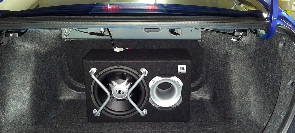 feature car subwoofer