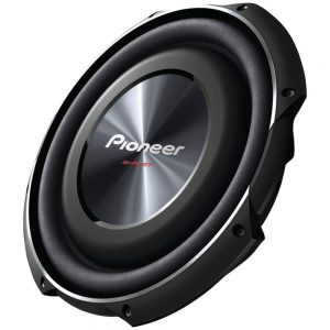 7 PIONEER TS-SW3002S4 12 Shallow Mount Subwoofer