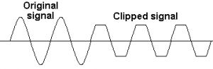 clipped signal
